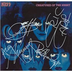 KISS Signed Creatures of the Night Album