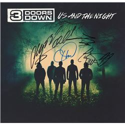 3 Doors Down Signed Us and the Night Album