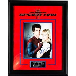 The Amazing Spider-Man Signed by Andrew Garfield and Emma Stone