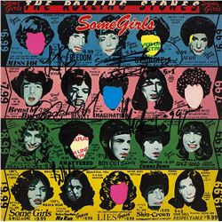 """The Rolling Stones """"Some Girls"""" Signed Album"""
