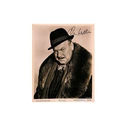 Orson Welles Signed Photo