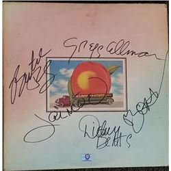 """Allman Brothers Band """"Eat a Peach"""" Signed Allman"""