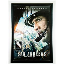 San Andreas Signed Movie Poster