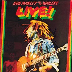 Bob Marley and the Wailers Signed Live Album