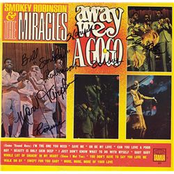 Smokey Robinson And The Miracles Signed Away We A-Go-Go Album