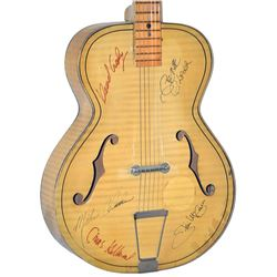 The Byrds Signed Guitar