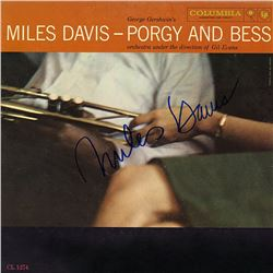 """Miles Davis """"The Man with the Horn"""" Signed Album"""