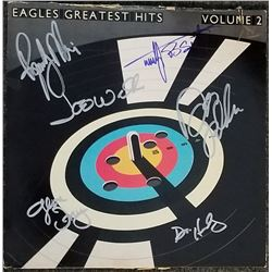 """Eagles """"Greatest Hits, Vol. 2"""" Signed Album"""