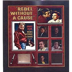James Dean Rebel Without a Cause Signature Collage