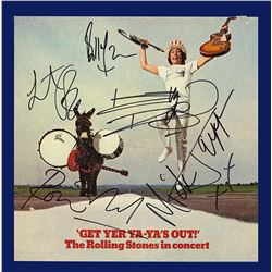 Rolling Stones Signed Get Your Ya-Yas Out Album