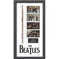 The Beatles Starr, Harrison and McCartney Signed Drum Stick