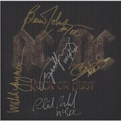 AC/DC Signed Rock or Bust Album