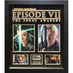 Star Wars - The Force Awakens Photos Signed by Han Solo and Princess Leia
