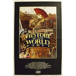 History of the World Part 1 Ð Signed Movie Poster
