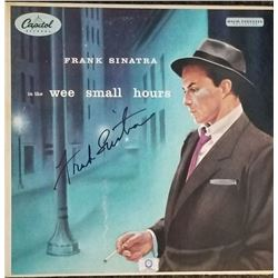 """Frank Sinatra """"In the Wee Small Hours"""" Signed Album"""