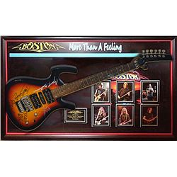 Boston Autographed Guitar 'More Than a Feeling'