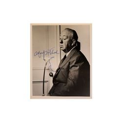 Alfred Hitchcock Signed Photo