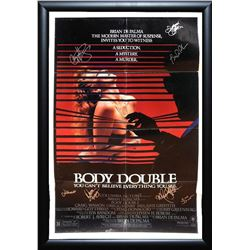 Body Double Signed Movie Poster