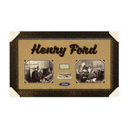 Henry Ford Signature Collage