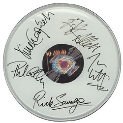 Def Leppard Drum Head