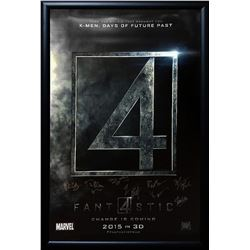 Fantastic Four Signed Movie Poster