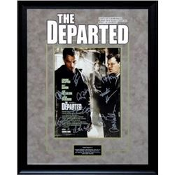 The Departed - Signed by Cast - Framed Artist Series