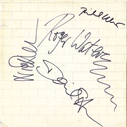 "Pink Floyd ""The Wall"" Signed Album"