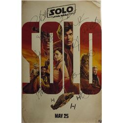 Star Wars: Solo Ð Signed Movie Poster