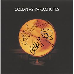 "Coldplay ""Parachutes"" Signed Album"