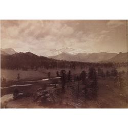 William Henry Jackson Longs Peak Photograph c.1873