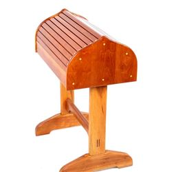 EXCELLENT Custom Cherry Wood Saddle Stand