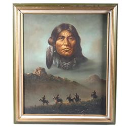 Native American Portrait & Landscape By Kenneth