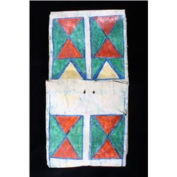 Plateua Painted Buffalo Hide Parfleche c. 1800's