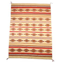 Large Navajo Hand Woven Chinle Rug