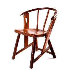 Old Hickory Bent-Back Chair circa 1900-