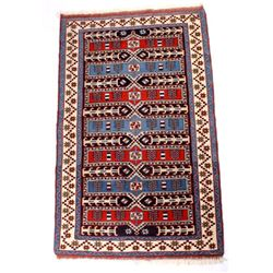 Early Persian Shiraz Qashqai Fine Rug c. 1900-