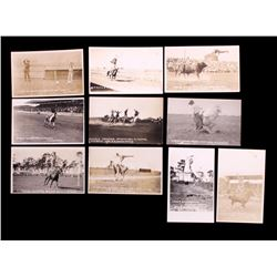 Ralph Doubleday Rodeo Real Photo Postcards (10)