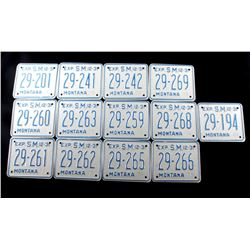 Collection of Montana Special Mobile Plates