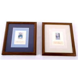Gen. Robert E Lee & Grant Framed Cigarette Cards