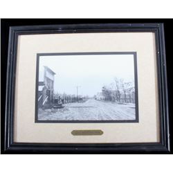 1909 Lolo Montana Framed Photograph