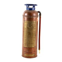 Antique Elkhart Brass 2.5 Gallon Fire Extinguisher