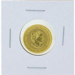 2013 $5 Canada 1/4 oz. First Special Service Force .9999 Fine Gold Coin