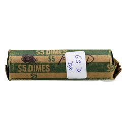 Roll of (50) 1963-D Brilliant Uncirculated Roosevelt Dimes
