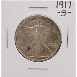 1917-S Walking Liberty Half Dollar Coin