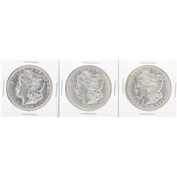 Lot of (5) 1904-O $1 Morgan Silver Dollar Coins