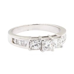 18KT White Gold 1.30 ctw Diamond Ring