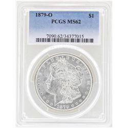 1879-O $1 Morgan Silver Dollar Coin PCGS MS62