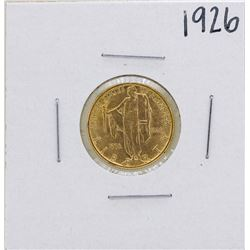 1926 $2 1/2 Sesquicentennial Commemorative Gold Coin