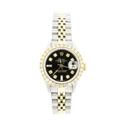 Ladies Rolex Two-Tone Oyster Perpetual Datejust Wristwatch