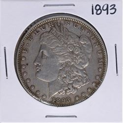 1893 $1 Morgan Silver Dollar Coin